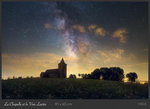 La Chapelle et la Voie lactée